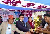 জেলা ক্রীড়া অফিসের আয়োজনে মনোহরদীতে মুজিববর্ষ ফুটবল টুর্নামেন্ট অনুষ্ঠিত