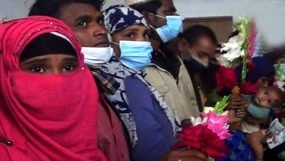 সুনামগঞ্জে সাজার বদলে ৫৪ পরিবারকে সম্প্রীতির বন্ধন গড়ে দিল আদালত