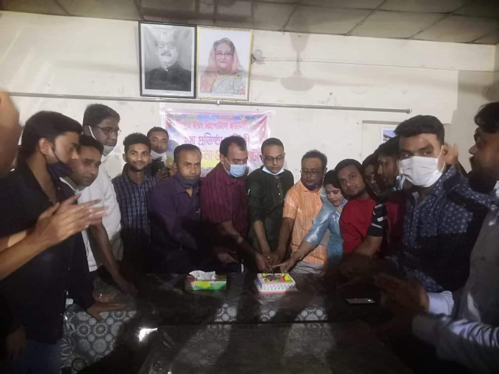 শেরপুর ইয়ং রিপোর্টার্স ইউনিটির ১ম প্রতিষ্ঠা বার্ষিকী উদযাপন
