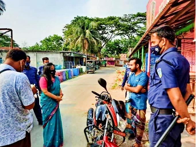 গফরগাঁওয়ে ভ্রাম্যমাণ আদালতের জরিমানা