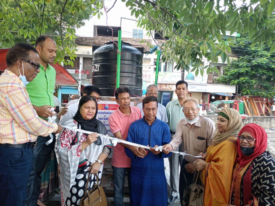 রাজশাহীতে রোটারী ক্লাব অফ পদ্মার উদ্যোগে সুপেয় সাবমার্শিবল পাম্পের উদ্বোধন